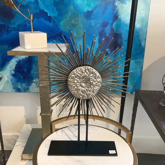 Modern Sunburst Sculpture - Image 6 of 6