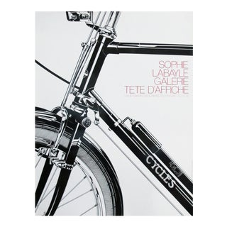 1982 Modern Bicycle Poster, Sophie Labayle Cycles
