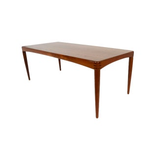1970s Danish Modern h.w. Klein Bramin Teak Coffee Table For Sale