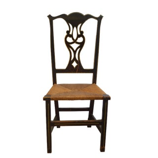 Early 19th Century English Chippendale Side Chair For Sale