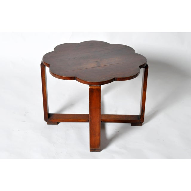 Brown Art Deco Low Table For Sale - Image 8 of 11