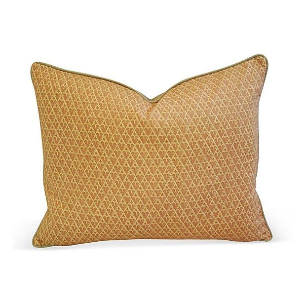 Designer Italian Fortuny Murillo Pillows - Pair - Image 5 of 7