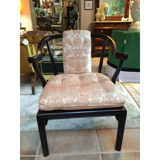 Heritage Chinoiserie Accent Chair - Image 2 of 10