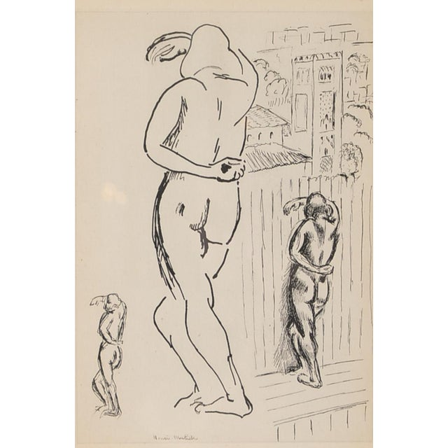 """Matisse """"Planche 2"""" Portrait of a Woman Lithograph - Image 4 of 10"""