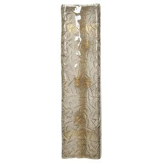 Mazzega Italian Smoky Murano Glass Sconces (5 Available) For Sale