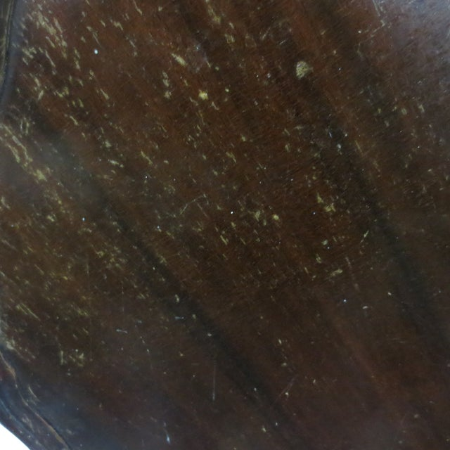 Brandt Mahogany Piecrust Table For Sale In Boston - Image 6 of 8