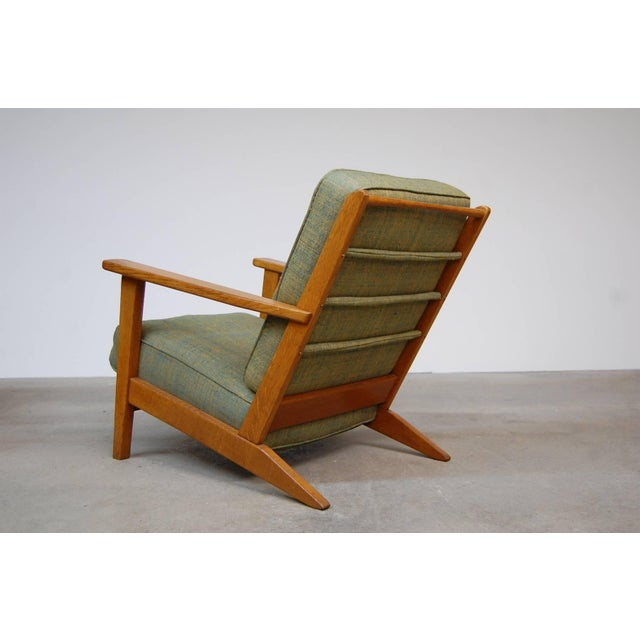 Mid 20th Century Modernist Lounge Chairs From France- a Pair For Sale - Image 5 of 9