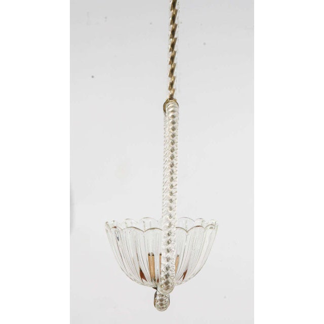 Murano Fixture by Barovier E Toso For Sale In Los Angeles - Image 6 of 9