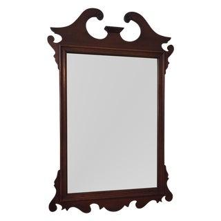 Vintage Mahogany Mirror For Sale