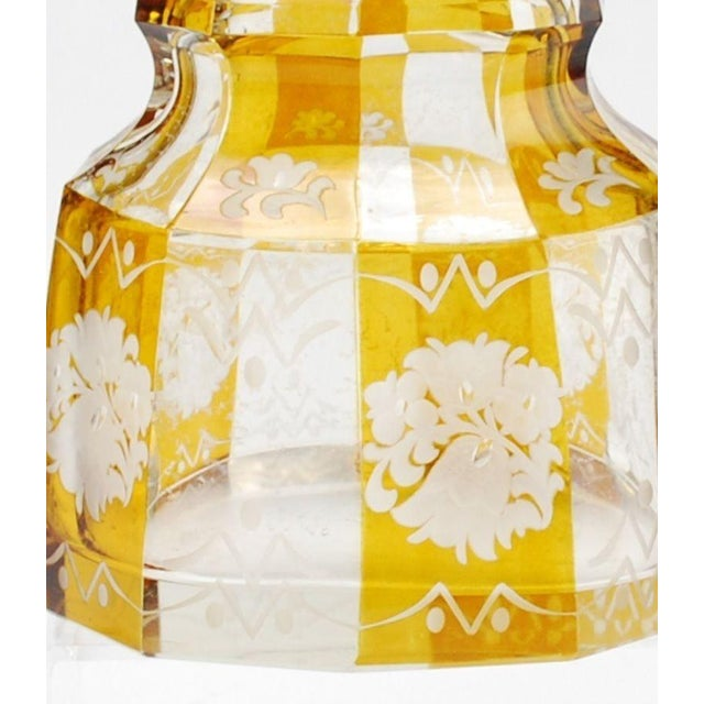 Art Deco Bohemian Decanter For Sale - Image 7 of 8
