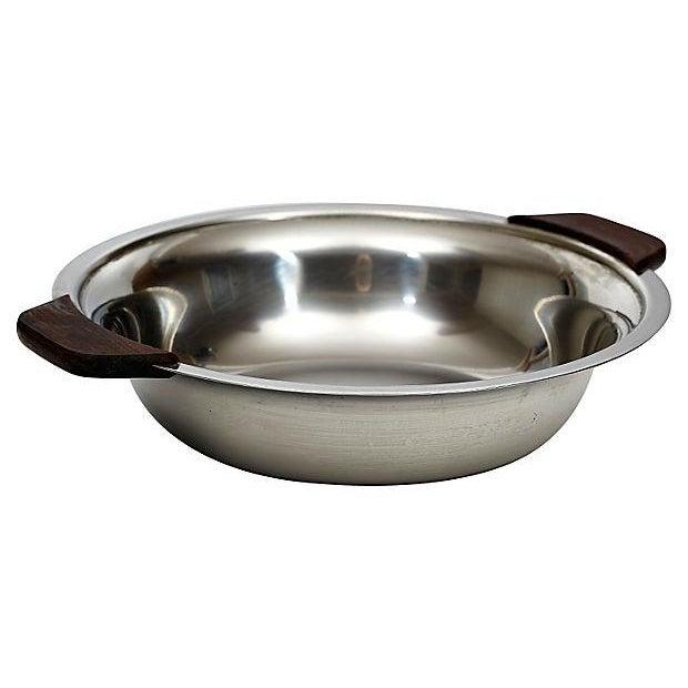 Danish Lundtofte Stainless Bowl - Image 2 of 4