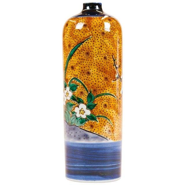 Lawrence and Scott, Inc Lawrence & Scott Japanese Kutani Bird Vase For Sale - Image 4 of 5