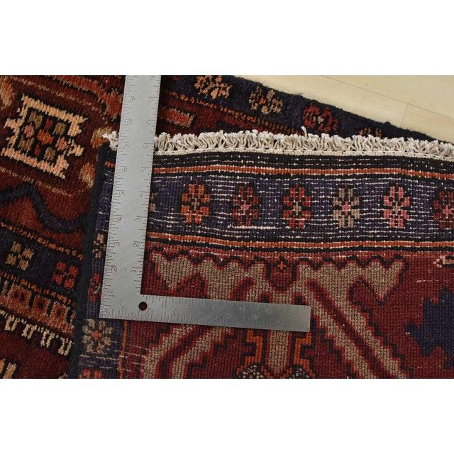 Vintage Persian Koliai Rug - 4'3'' X 10'1'' For Sale - Image 12 of 13