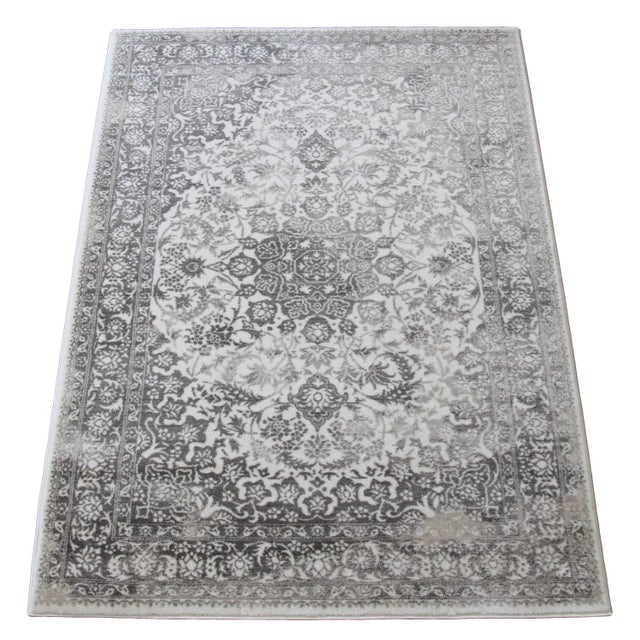 Gray Faded Medallion Rug - 5' X 8' - Image 6 of 6