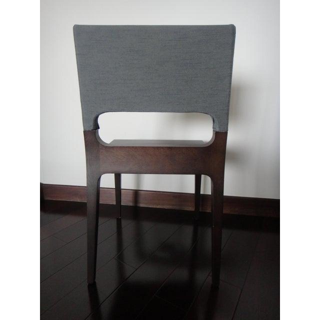 ligne roset gina dining chair chairish. Black Bedroom Furniture Sets. Home Design Ideas