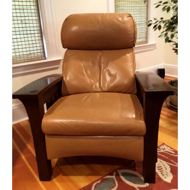 Stickley Mission Recliner Chair - Image 2 of 6
