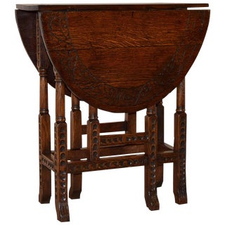 19th Century English Gate-Leg Table For Sale
