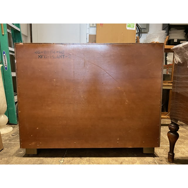 Mid-Century Modern Henredon Faux Tortoise Sideboard For Sale In Los Angeles - Image 6 of 11