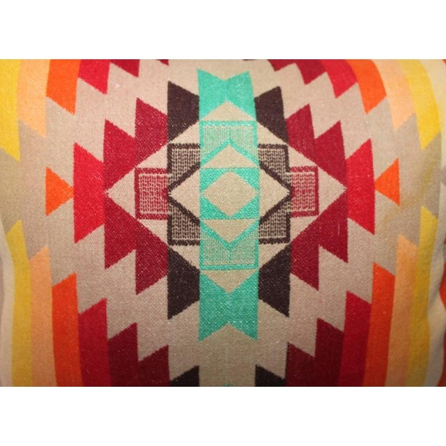 Amazing Flying Geese and Striped Pendleton Pillows For Sale In Los Angeles - Image 6 of 8