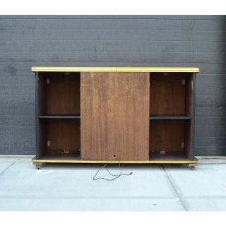 1960s Vintage Freestanding Bar Fireplace Preview