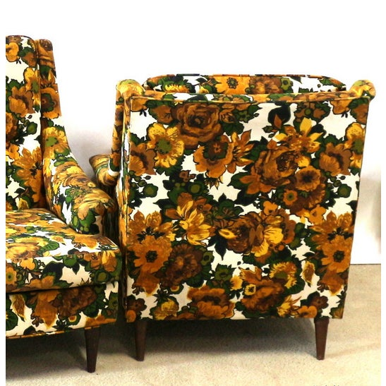 1950s Selig Chairs, Upholstered Seats - A Pair - Image 4 of 6
