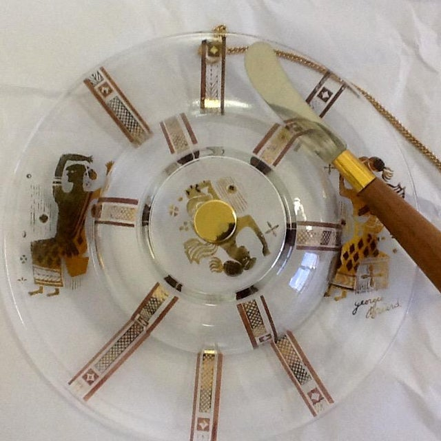 Georges Briard Domed Cheese Set - Image 4 of 6