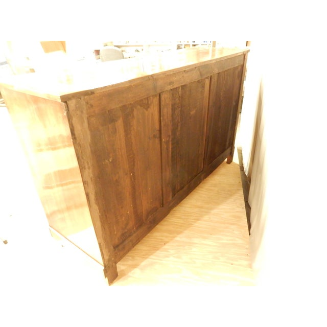 Brass Early 19th C. Directoire' Walnut Enfilade For Sale - Image 7 of 10