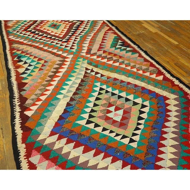 Vintage Persian Kilim Rug - 5′8″ × 12′6″ For Sale - Image 4 of 5