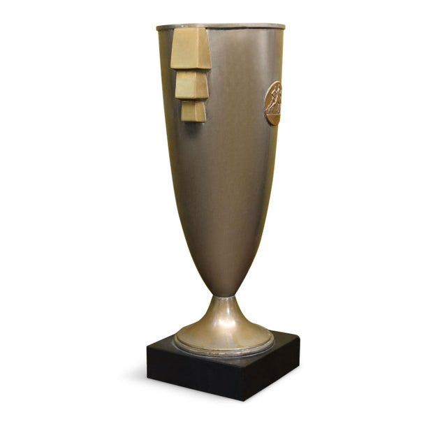 1930s French Deco Trophy Cup For Sale - Image 5 of 8