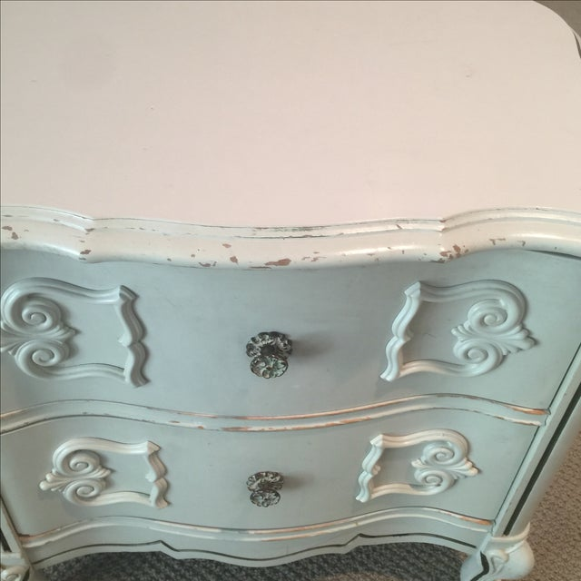 Ivory 2-Drawer Bedside Table - Image 5 of 8