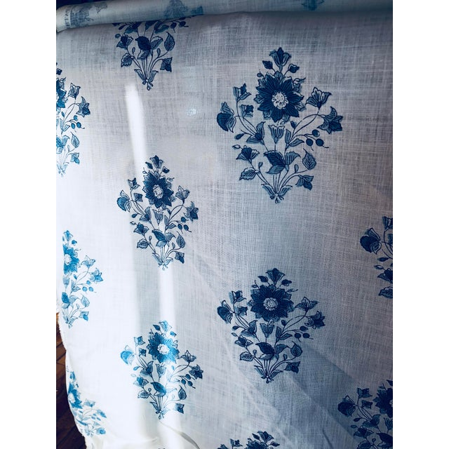 Schumacher Beatrice Bouquet Fabric For Sale - Image 5 of 8