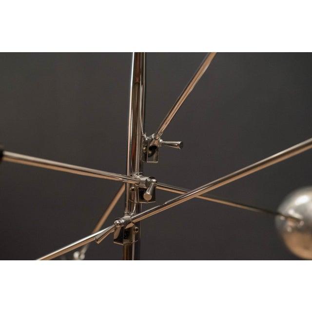 Mid-Century Modern Robert Sonneman Triennale Chrome Floor Lamp For Sale In Monterey, CA - Image 6 of 11