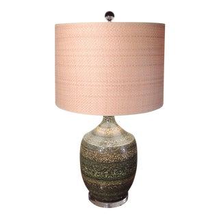 Mid Century Italian Pottery Lamp