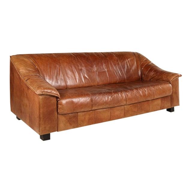 De Sede Brown Sofa For Sale