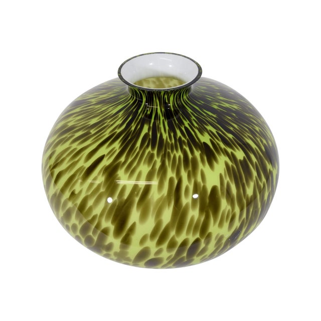 Mid-Century Glass Vase - Image 1 of 4