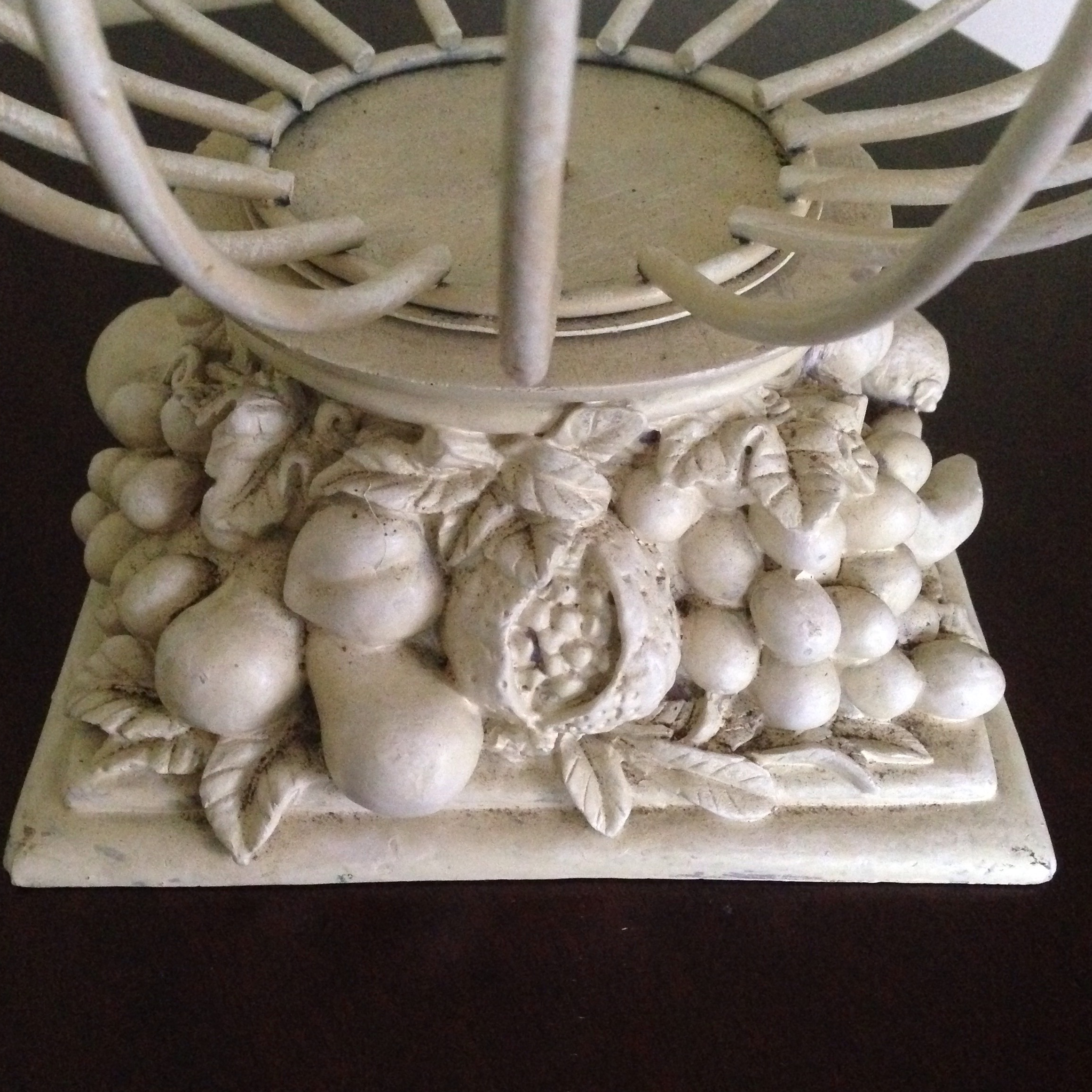 Vintage French Style Wire Garden Urn Planter For Sale   Image 4 Of 11