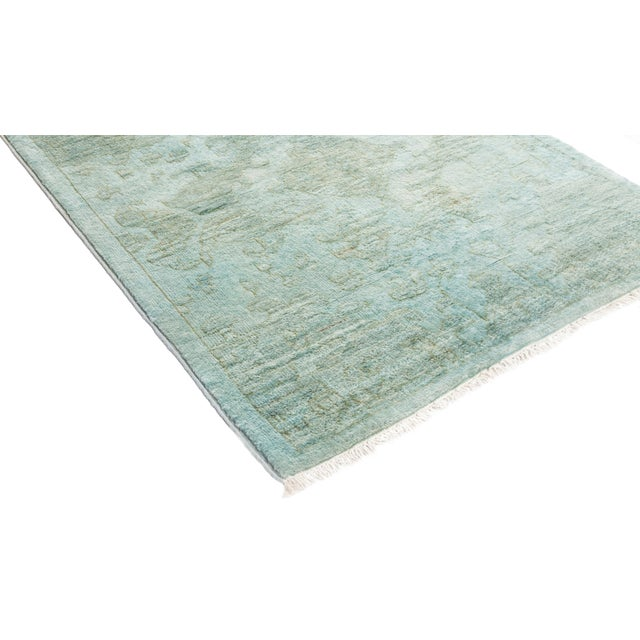 "Vibrance Hand Knotted Runner Rug - 2' 8"" X 12' 4"" - Image 2 of 4"