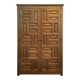 Ralph Lauren Home Driftwood Bar Cabinet For Sale