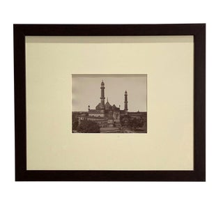 Antique Photograph of the Asafi Masjid For Sale