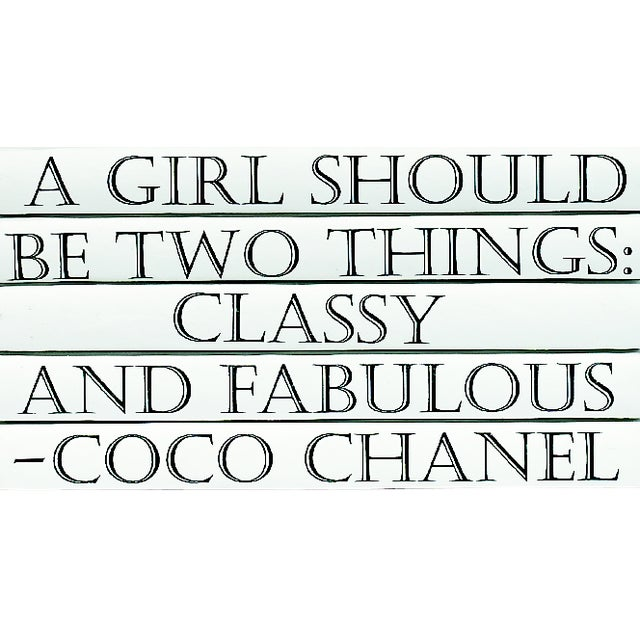 Coco Chanel Quote Book Stack - 5 - Image 2 of 2