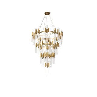 Waterfall Chandelier From Covet Paris For Sale