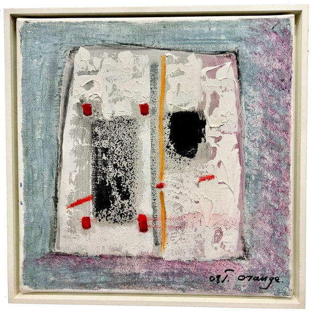 """Abstract """"Separation,"""" by Jean Orange For Sale - Image 3 of 3"""
