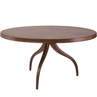 Julian Chichester Printz Oak & Vellum Dining Table