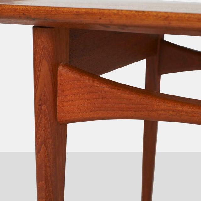 France & Daverkosen A Tove & Edvard Kindt-Larsen Coffee table For Sale - Image 4 of 6