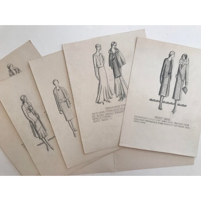 """""""Final Costume Design Problem"""" by Beryl Adair Trezise (1909-2000). These five designs (along with descriptions and custom..."""