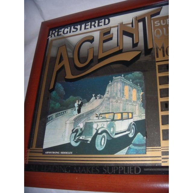 English Pub Mirror Advertising Motor Cars - Image 5 of 5