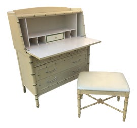 Vintage Used Secretary Desks For Sale Chairish >> Vintage Used Secretary Desks For Sale Chairish