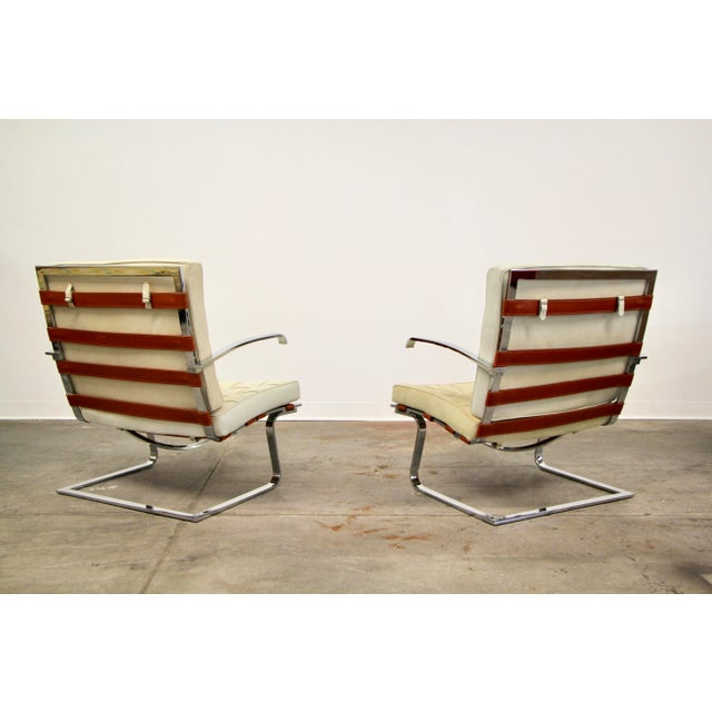 Mies Van Der Rohe and Lilly Reich Tugendhat Chairs - a Pair For Sale In San Diego - Image 6 of 13