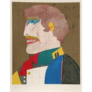 "Richard Lindner, ""After Noon"" Lithograph"