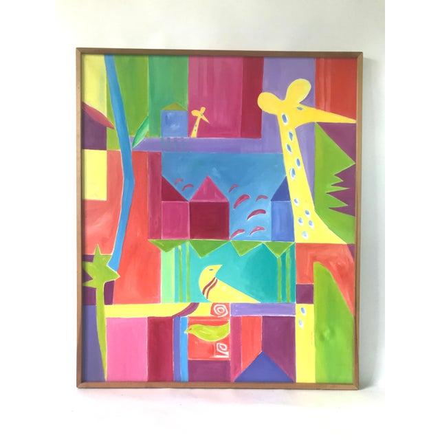 Original JoAnn Crisp Ellert Oil Painting on Canvas, 1990s For Sale - Image 11 of 11